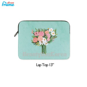 "ALL NEW FRAME Rose iPad Pouch 1ea [Lap Top 13""]"